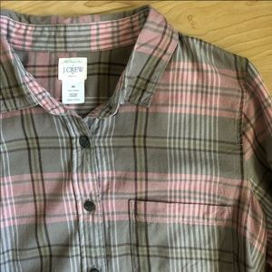 J. Crew - The Perfect Button Up Plaid Shirt